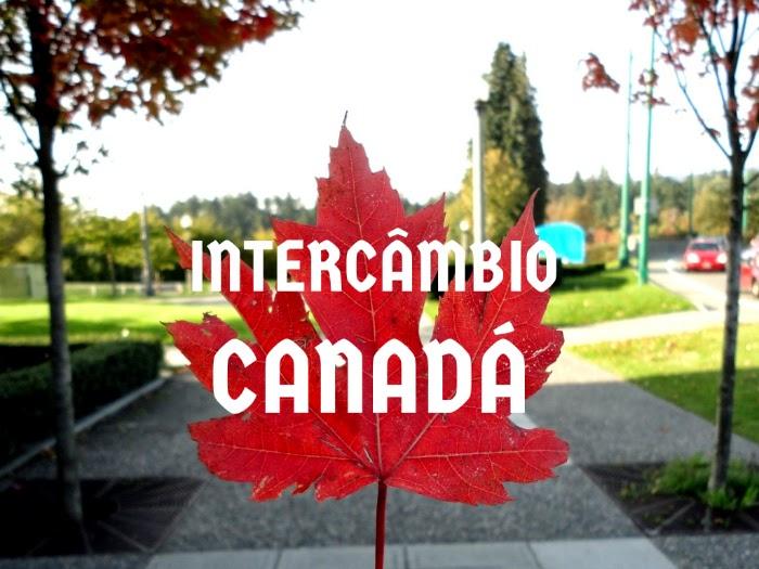 intercambio no Canadá símbolo